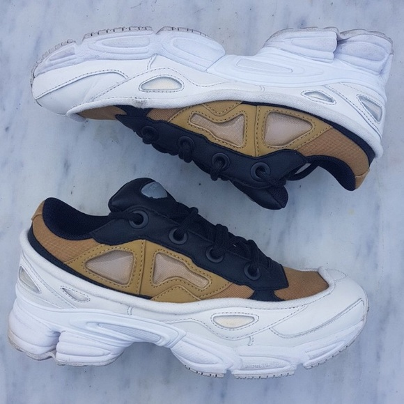 info for e478e d3a9f Raf Simons Ozweego 3 Tan Brown White Sneakers